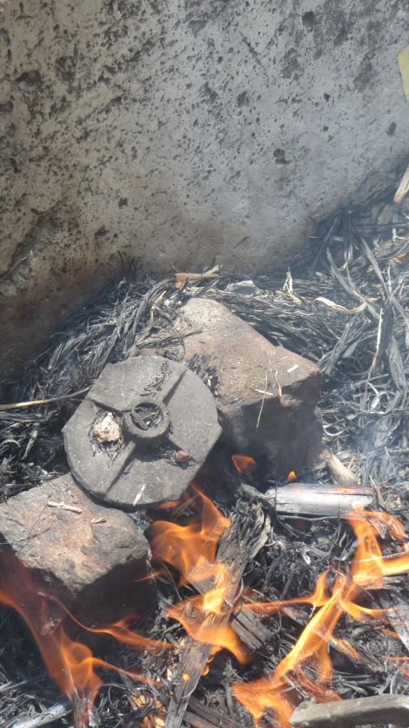....da musste schon heiß vulkanisiert wern......