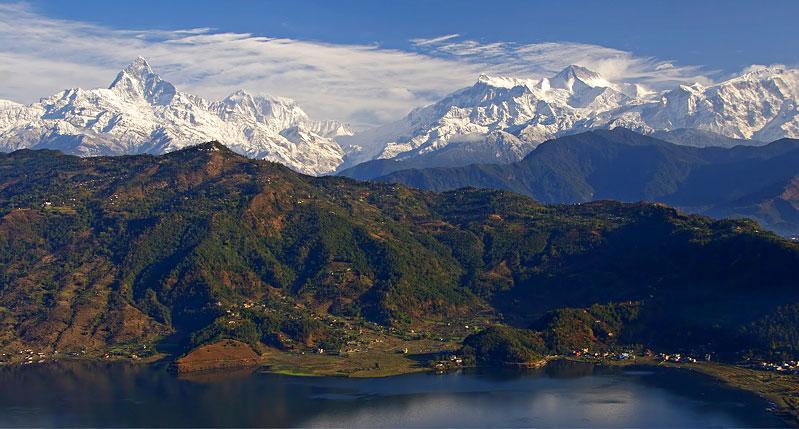 Anapurna von Pokhara