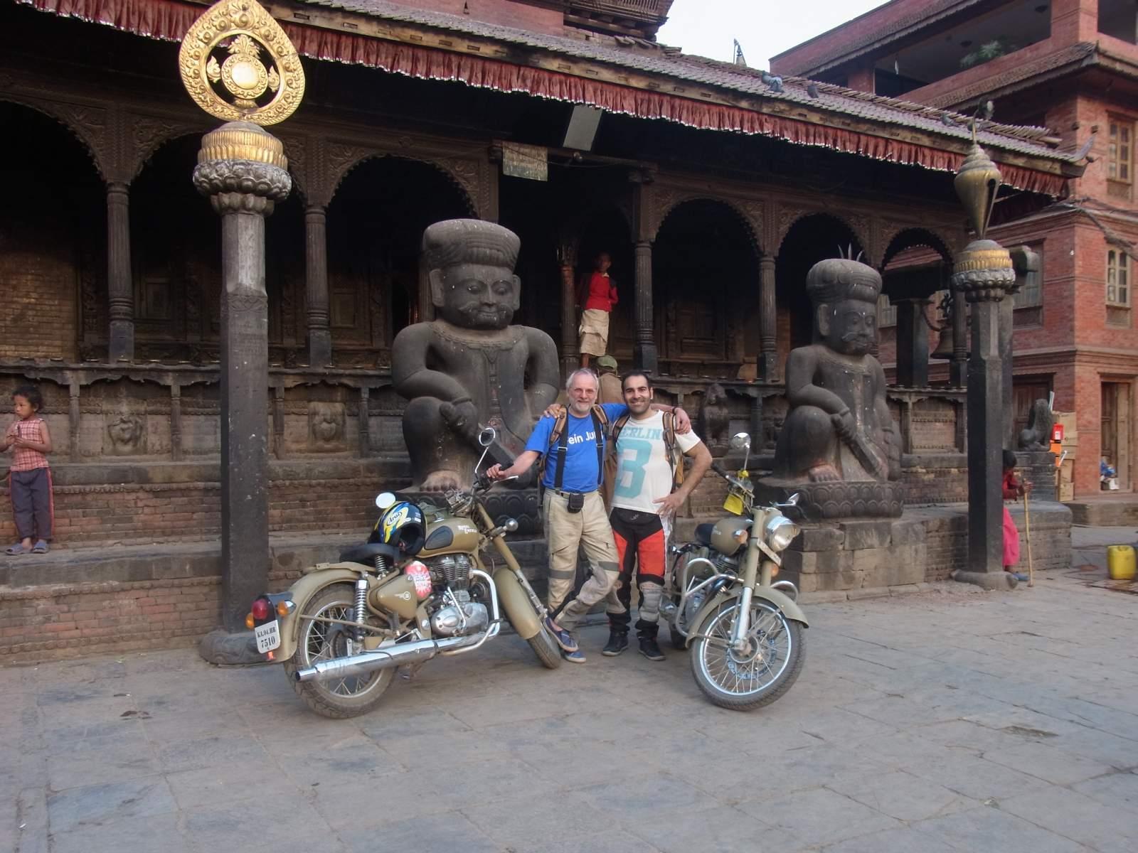 Ankunft in Bhaktapur